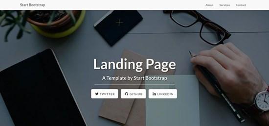 44) Landing Page