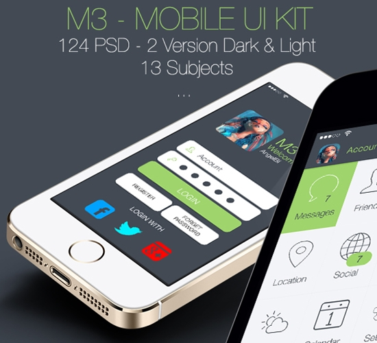 Free-Mobile-UI-Kits-22