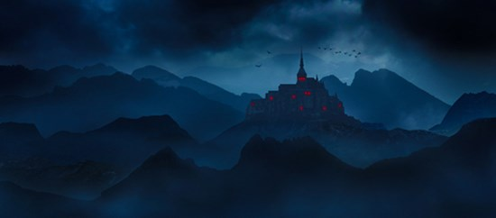 How to Make a Dark Castle Matt Painting Easily