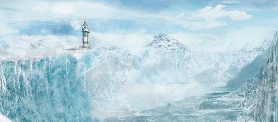 Manipulation for a Lighthouse in an Icy Place