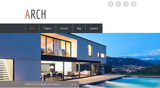 arch-free-html5-template-image