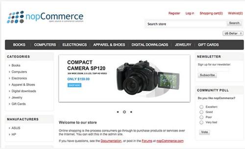 5) nopCommerce