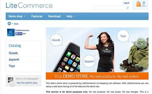 9) LiteCommerce