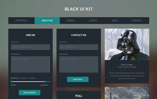 black_ui_kit