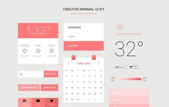creative-minimal-ui-kit