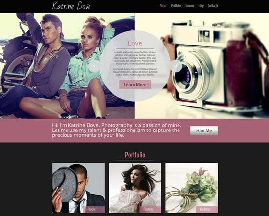 free-html5-theme-photo-site