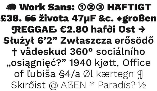 1) Work-Sans