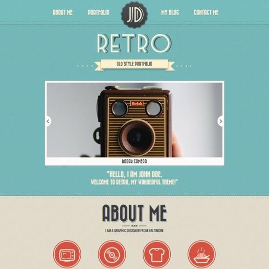5) New Retro Portfolio