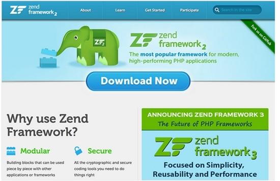 7) Zend Framework