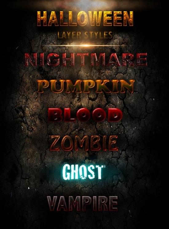 Halloween Layer Screen