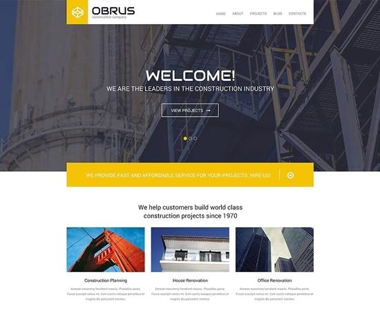 Obrus WordPress Theme