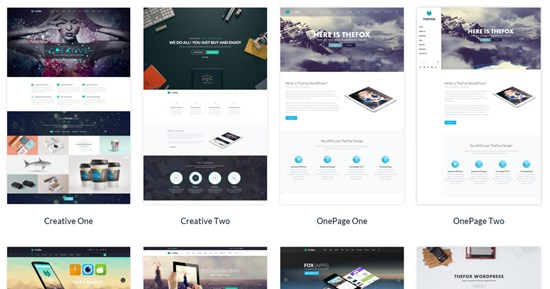 14) The Fox Responsive multipurpose WordPress theme