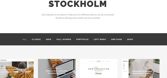 21) Stockholm A genuinely multi concept theme