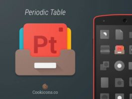 18) Periodic Table Type Products Icons