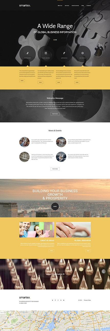 Business Company WP Theme