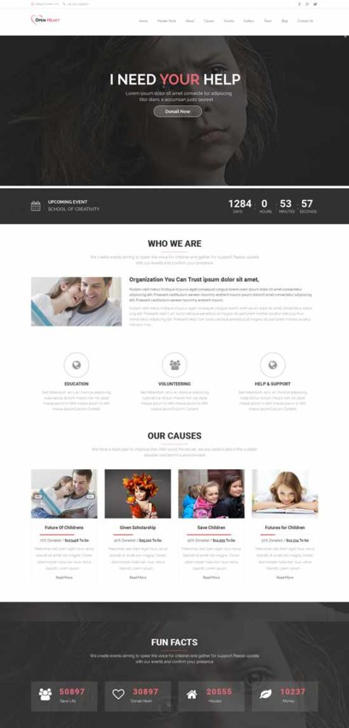 Open-Heart-Charity-Wordpress-Theme