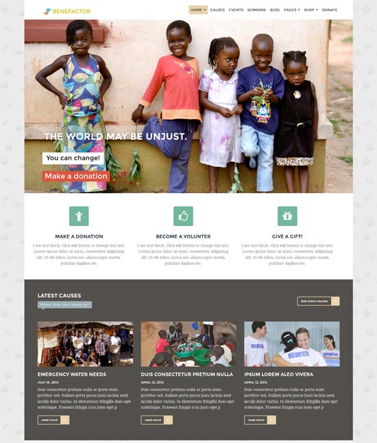 benefactor-nonprofit-wordpress-theme