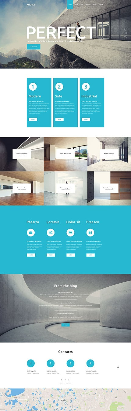 Architectural WordPress Theme