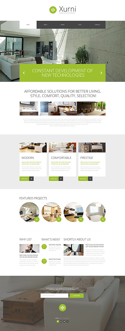 Interior WP Theme
