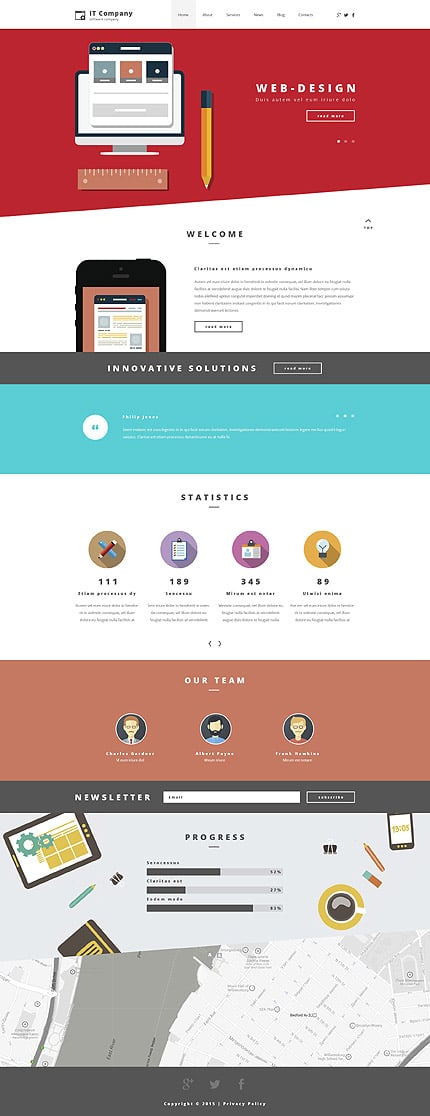 Information Technology WordPress Theme