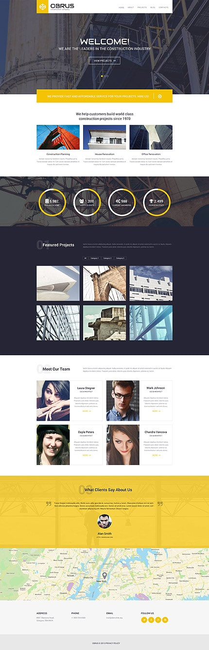 Construction WP Theme