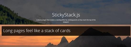 StickyStack