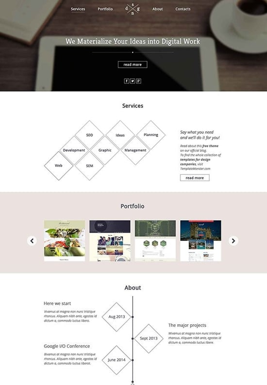 Free-HTML5-One-Page-Theme