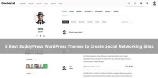 5 Best BuddyPress WordPress themes to Create Social Networking Sites