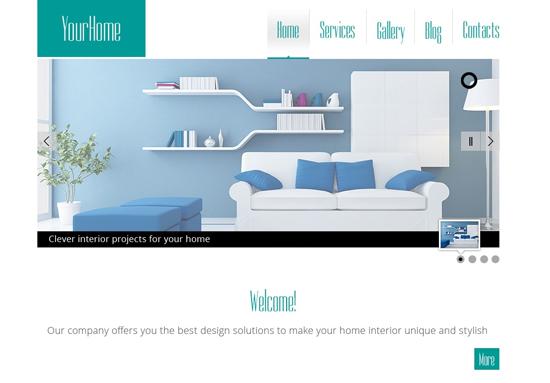 Your Home-Free HTML5 Theme for Interior Site-1