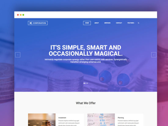 60 free responsive html5 css3 website templates for Contact us template free download