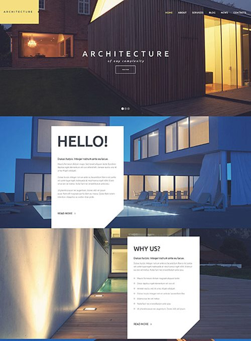 Architecture WordPress Theme