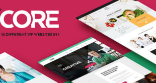 Are You Ready for a Giveaway? Three Lucky Winners Will get The Core Multipurpose WordPress Theme