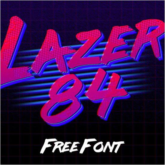 5. Free Retro Fonts