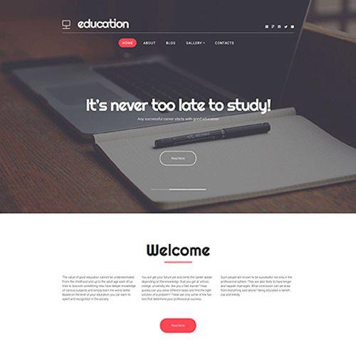 Education Services WP Theme