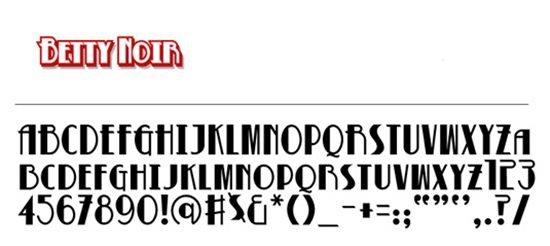 9. Free Retro Fonts