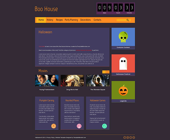 halloween-free-html5-theme