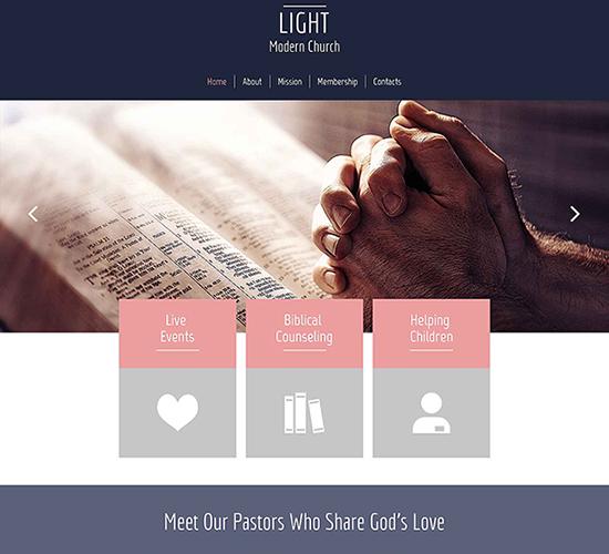 free-html5-theme-for-religious-site