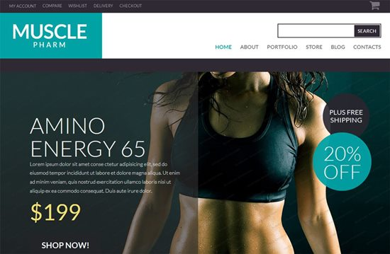 muscle-pharm-woocommerce-theme