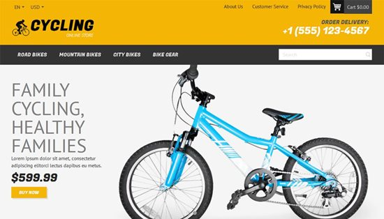 cycling-free-magento-theme