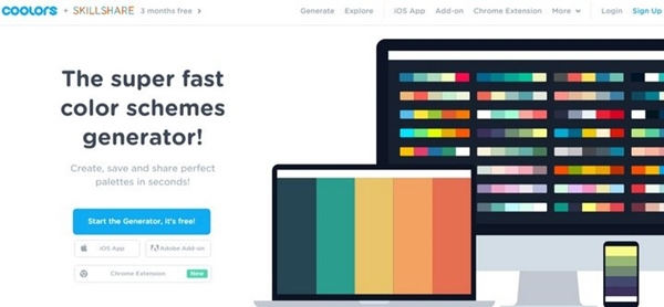 40 best color combination tools palette scheme