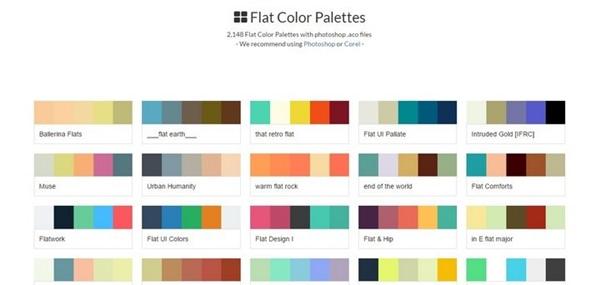 22. flat-color-palettes