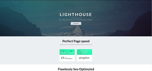Lighthouse Blogger