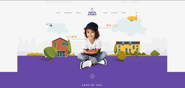 Kids Toys & Clothing Store WordPress Theme