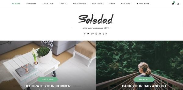 Soledad - Multi-Concept Blog-Magazine WP Theme