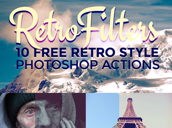 50 Free Photoshop Actions to Create Amazing Effects