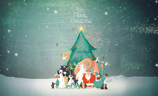 Christmas Desktop Pictures.High Quality Christmas Desktop Wallpapers For 2014